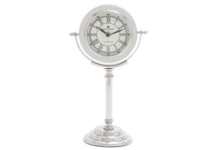 Tall Metal Table Clock