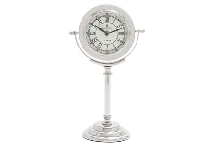 Tall Metal Table Clock - Main