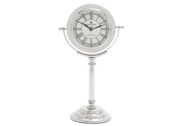 Tall Metal Table Clock