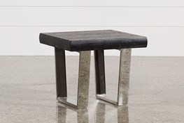 Bateau Grey End Table