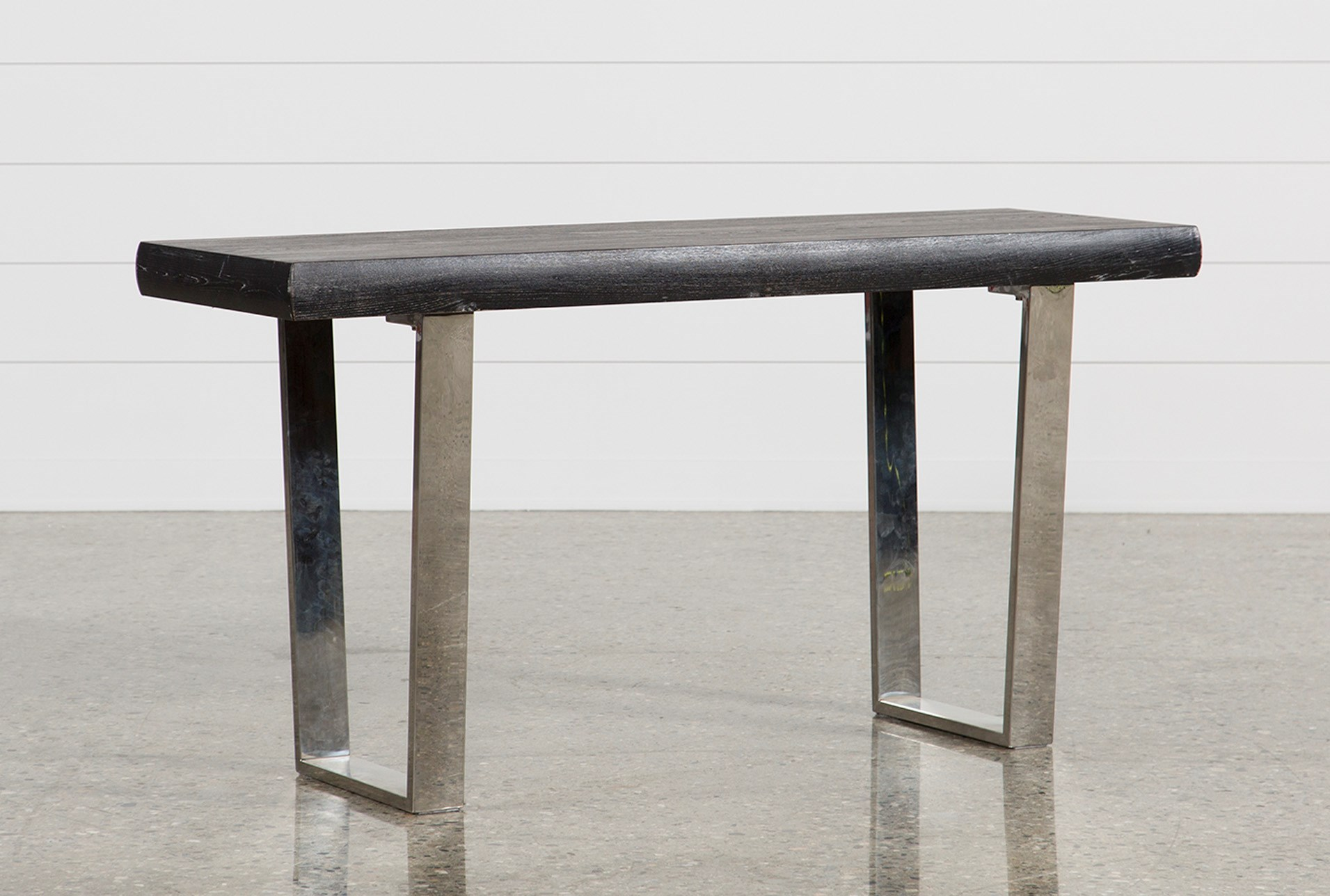 added to cart bateau grey console table . bateau grey console table  living spaces