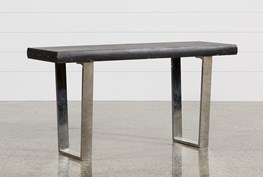 Bateau Grey Console Table