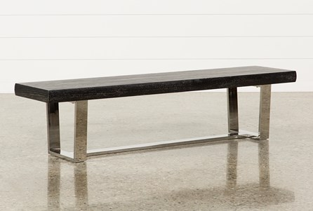 Bateau Grey Bench