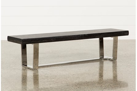 Bateau Grey Bench - Main
