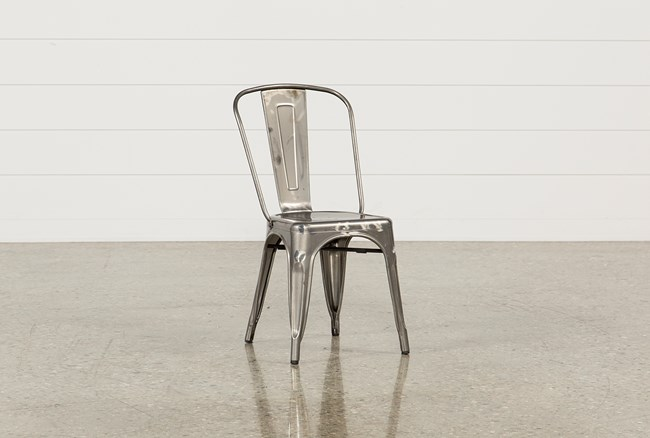 Cooper Metal Side Chair - 360