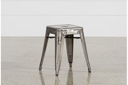 Cooper 18 Inch Metal Backless Stool - Main