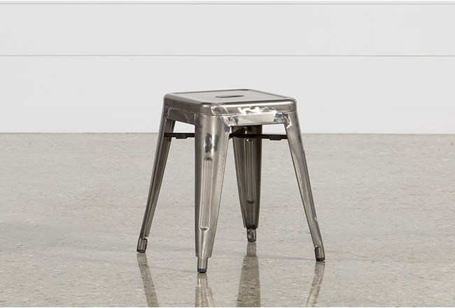 Cooper 18 Inch Metal Backless Stool - 360