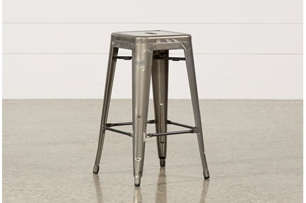 Cooper 26 Inch Metal Backless Stool - Main