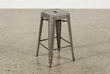 Cooper 26 Inch Metal Backless Stool - Top