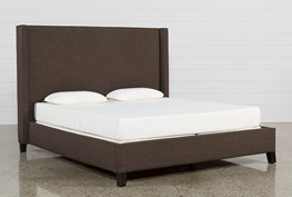 Gage California King Upholstered Panel Bed