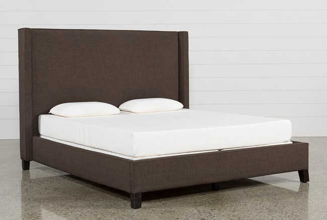 Gage California King Upholstered Panel Bed - 360