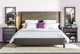 Gage Eastern King Upholstered Panel Bed - Room