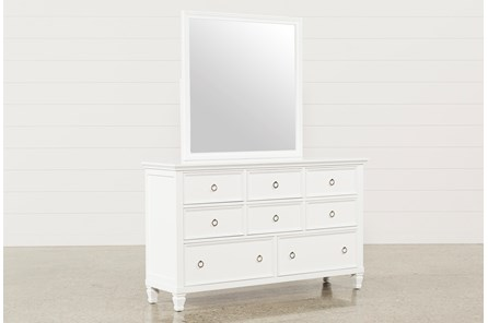albany dresser mirror living spaces