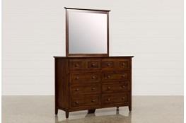 Copenhagen Brown Dresser/Mirror