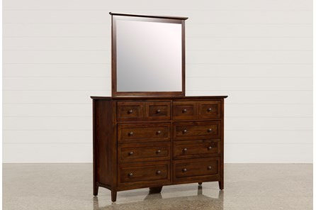 Copenhagen Brown Dresser/Mirror