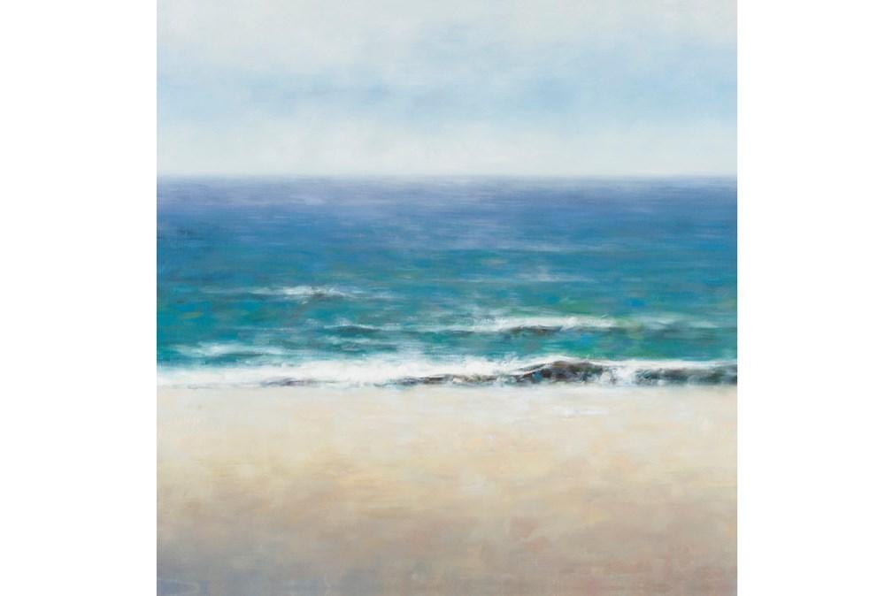 Picture-Calm Sea To Horizon