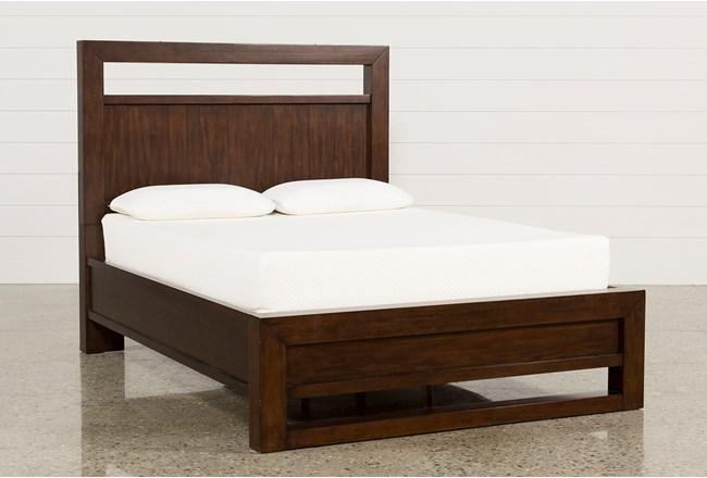 Tesla California King Panel Bed - 360