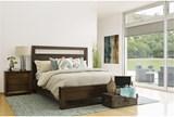 Tesla Queen Panel Bed - Room