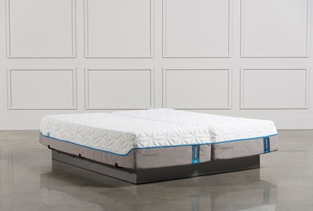 Tempur-Pedic Cloud Luxe California King Split Mattress Set