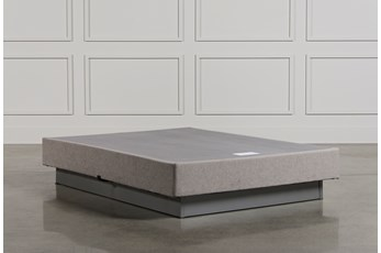 "Tempur-Pedic Tempur Flat Grey Queen 9"" Foundation"