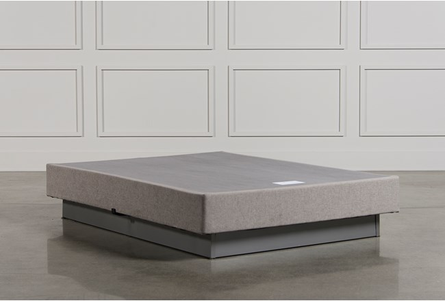 Tempur Pedic Tempur Flat Grey Queen Foundation Living Spaces