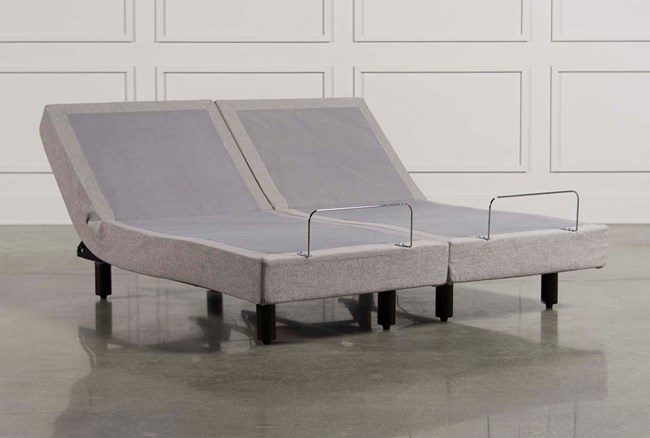Tempur-Pedic Ergo Premier Grey Cal King Adjustable Foundation Set - 360