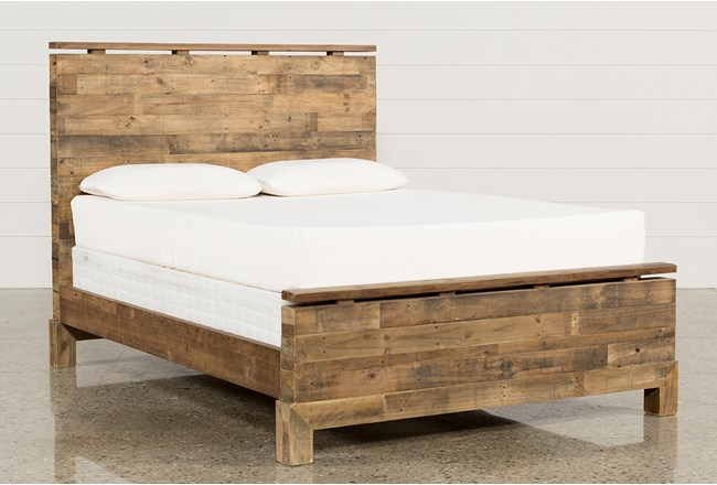 Atticus California King Platform Bed | Living Spaces