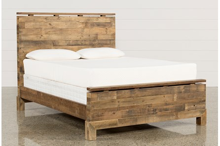 Atticus Queen Platform Bed - Main
