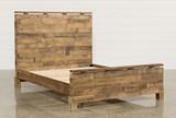 Atticus Queen Platform Bed - Left
