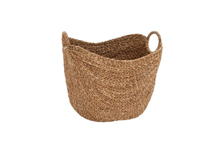 17 Inch Seagrass Basket - Main