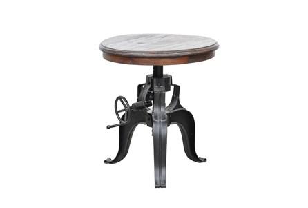 Tobias 22 Inch Round Crank Table