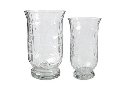 2 Piece Set Glass Tulip Candleholders - Main