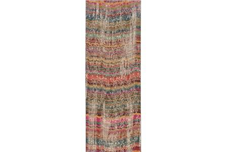 31X120 Rug-Boho Stripes