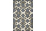 60X96 Rug-Optic Charcoal Grey - Signature