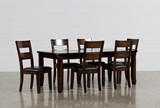 KIT-ROCCO 7 PIECE EXTENSION DINING SET