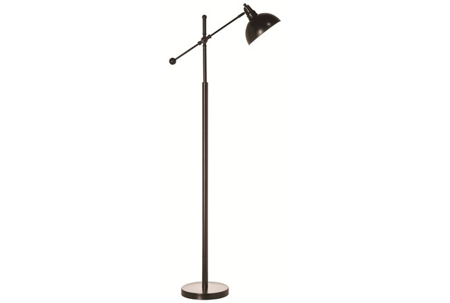 Floor Lamp-Oliver Antique Bronze Adjustable - 360