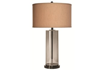 Table Lamp-Zoe Chrome