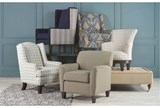 Sadie Swivel Chair - Room