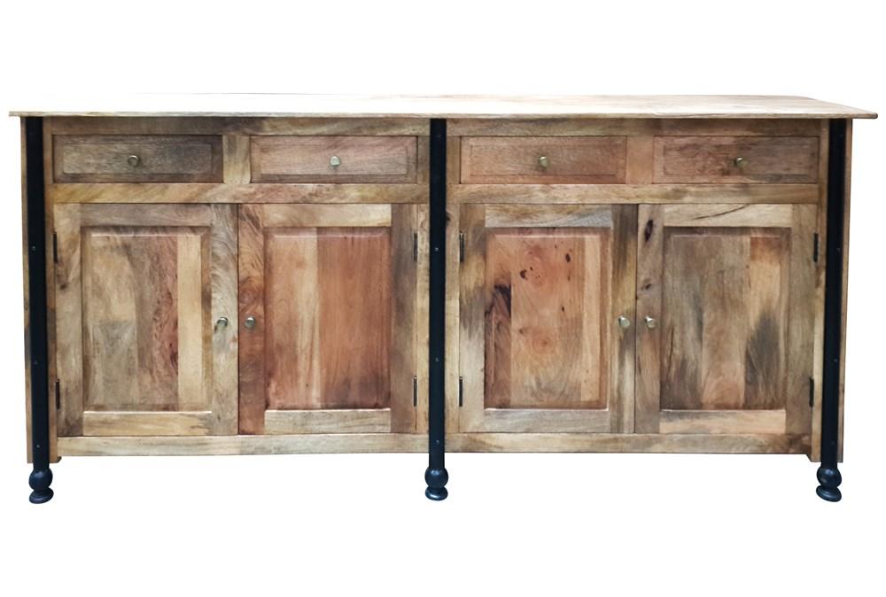 Lagos 4-Drawer Sideboard