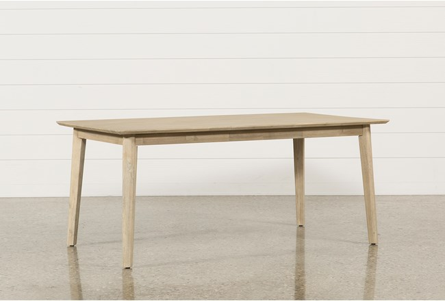 allen dining table living spaces