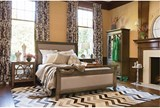 Candice Eastern King Sleigh Bed - Room