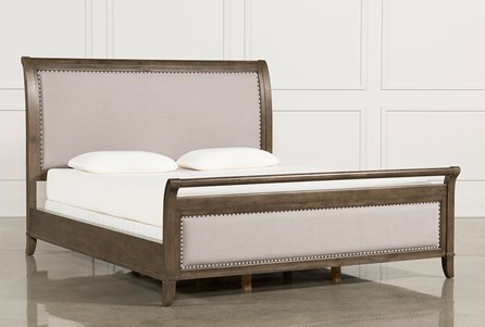 Candice Queen Sleigh Bed