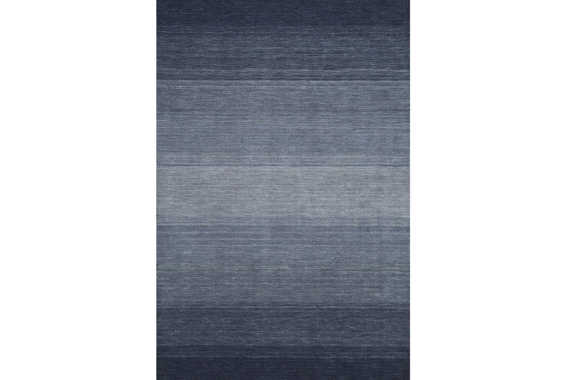 60x87 Rug Ombre Navy Living Spaces