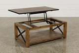 Tillman Rectangle Lift-Top Cocktail Table - Right