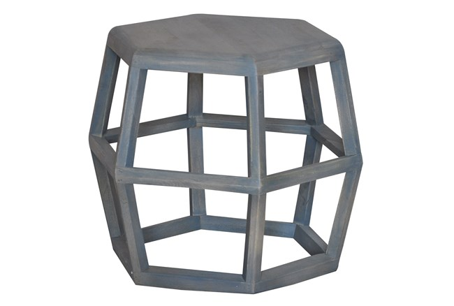 Hexagon End Table - 360