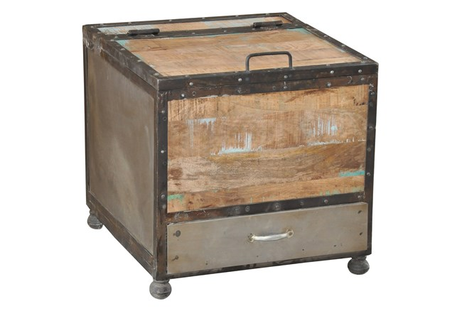 Franklin Trunk End Table - 360