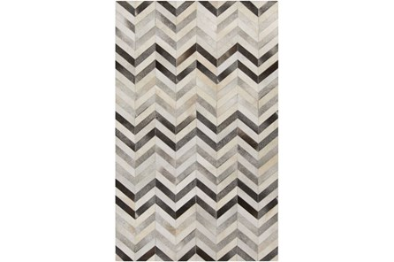 96X132 Rug-Kenton Chevron Hide