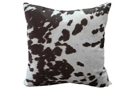 Accent Pillow-Reiter Hide Chocolate 22X22