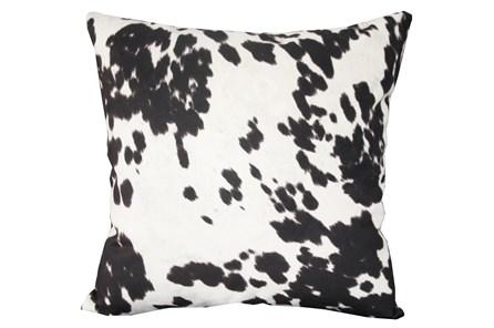 Accent Pillow-Reiter Hide Black 22X22