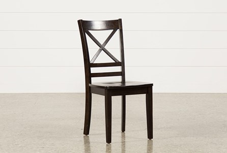 Roxy Espresso Side Chair
